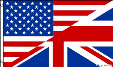 USA/UK Friendship Flag